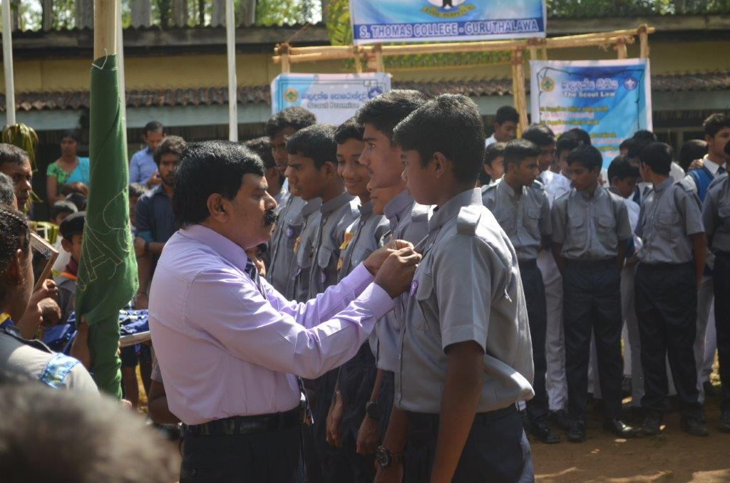 Scout batch awarding ceremony 2019